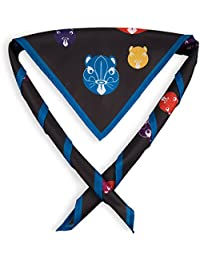 Beavers Face Youth Fun Scarf/ Necker - Official Scouting Product.