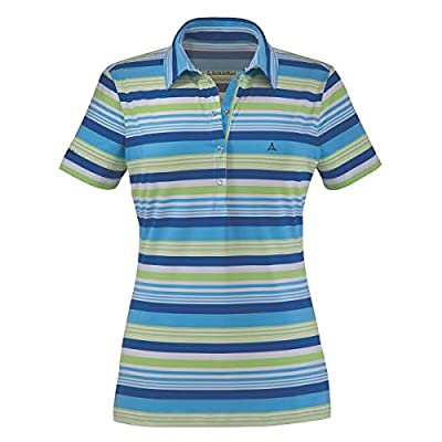 Schöffel Damen Funktions-Polo Funktions-Shirt Tesi in blau