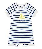 Petit Bateau Baby-Jungen Spieler Combicourt 28378, Mehrfarbig (Marshmallow/Perse 83), 92 (Herstellergröße: 24m/86cm)