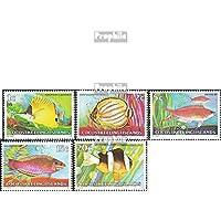 Kokos-Isole 34-47 (completa edizione) 1979 Pesce (Francobolli )