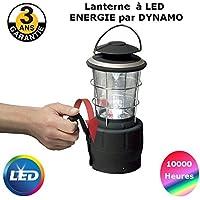 Linterna dinamo LED de larga duración