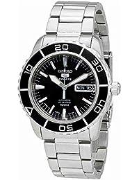 Seiko Herren-Armbanduhr XL Seiko 5 Sports Analog Automatik Edelstahl SNZH55K1