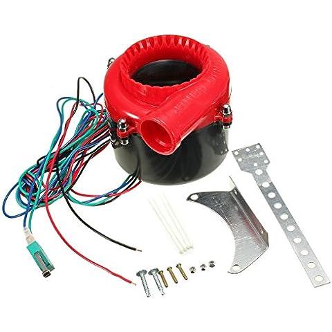 Yongse Coche universal electrónica Turbo válvula de escape volcado falso Boost Valve sonido analógico