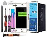Trop Saint® Akku für iPhone 5S - 1560mAh/3,8V mit Werkzeug, Sticker und Panzerglas
