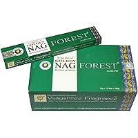 Räucherstäbchen Golden Nag Forest 15g Duft Raumduft 6 x Schachtel preisvergleich bei billige-tabletten.eu