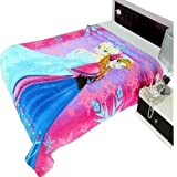 Nityakshi Creations Kids 3D Frozen Cartoon Printed Ac Blanket For Single Bed (Product As Per Image)