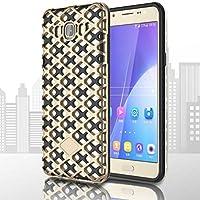 Samsung Galaxy J5 (2016) Cover, AOFad J510 Case Magro heavy duty protezione 2-in-1 Oro TPU Avec 11 Colors Urban-Knight Accessori Serie Per Donna Uomo 5.2