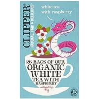 Clipper Teas - Organic White Tea with Raspberry - 26 Bags