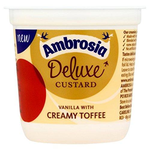 Ambrosia Deluxe Custard Vanilla & Creamy Toffee 150g