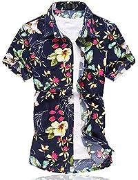 Cloud Style-tee-shirt casual-tee-hawaiian shirt-shirt été-imprimé- Manches courts- Homme
