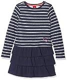 s.Oliver Mädchen Kleid Kurz, Blau (Blue Stripes 58G9), 128 (Herstellergröße: 128/REG)