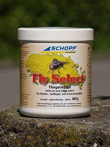 Schopf 301217 Fly Select, Fliegenköder, Fliegenfalle, Fraßköder, 400 g