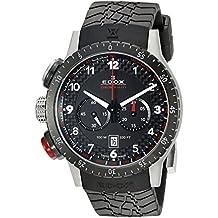 14e758f3bfb7 Edox Chronorally 1 Reloj de Hombre Cuarzo 45mm Correa de Goma 10305 3NR NR