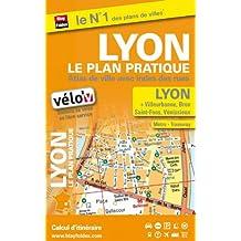 Atlas de Ville Lyon Pratique avec Index des Rues + Vélo'V