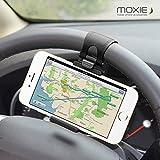 Moxie Wheel Soporte universal de móvil para volante de coche