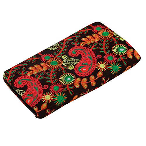 Kuber Industries™ Embroidried Women Clutch Purse, Hand Purse , Wallet, Mobile Cover