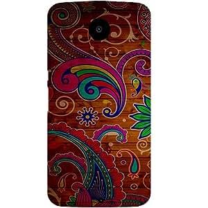 Casotec Wooden Pattern Design Hard Back Case Cover for Motorola Nexus 6