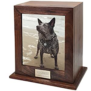 Custom Personalized Engraved Photo Frame Pet Urn For Cats