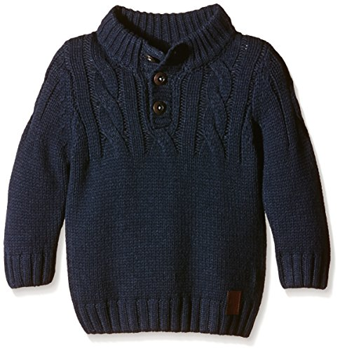NAME IT Jungen Pullover NITOLUCASON M KNIT 615, Gr. 86, Blau (Dress Blues)