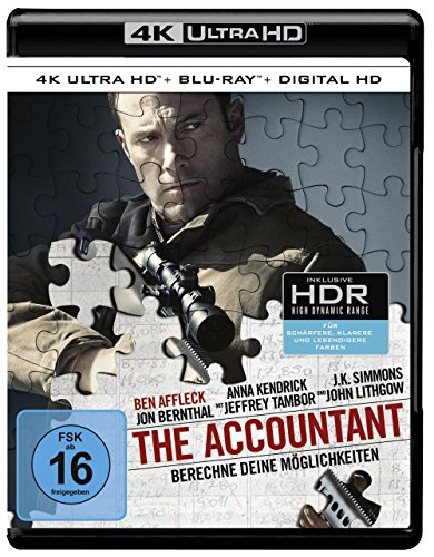 The Accountant (4K Ultra HD + 2D-Blu-ray) (2-Disc Version)