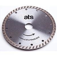 ATS 150mm x 22.23/20mm Turbo Diamond Blade Bushboard M Stone Max-Top Quartz Festool TS55