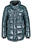 Gerry Weber Damen Outdoorjacke Nicht Wolle Steppjacke mit Glanzfinish Petrol 42