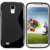 Schwarz TPU S Line Tasche Bumper Hülle Cover CASE für Samsung Galaxy S4 i9500