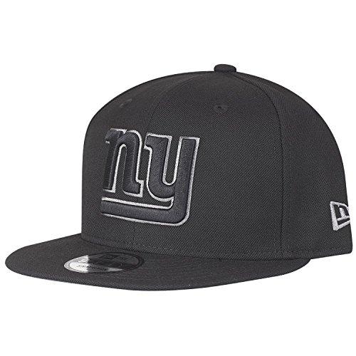 York Giants-football-hut New (New Era 9Fifty Snapback Cap - New York Giants schwarz / grau)