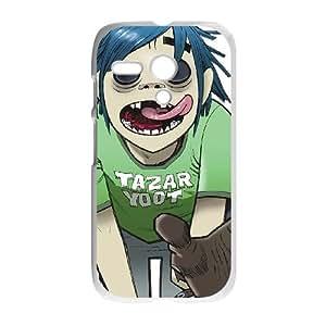 Motorola G Cell Phone Case Covers White Gorrilaz Ievca