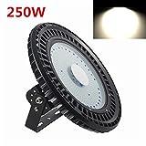 LED UFO Hallenleuchte Industrielampe 250W LED Licht Innen Außen 30000LM Kaltweiß UFO LED Industriebeleuchtung Deckenleuchte Wasserdicht IP54