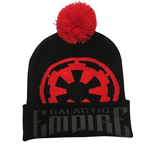 yvolve Star Wars - Galactic Empire - Mütze mit Bommel | Offizielles Merchandise