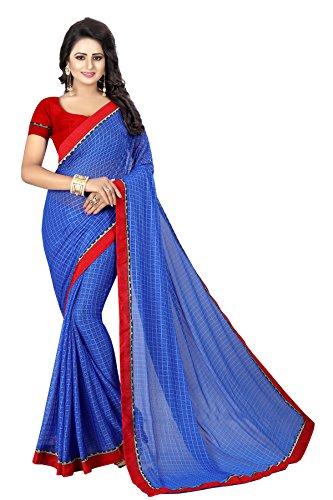 KAMELA SAREE Women's Clothing Saree Collection in Multi-Coloured Georgette Material For Women...