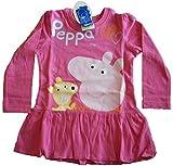 Peppa Pig Abito per bambina (Viola) (104 cm)