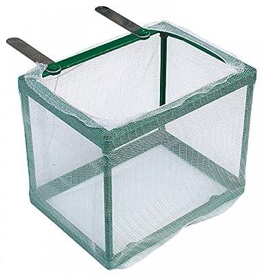 Aquaristikwelt24 Aufzuchtbecken Ablaichkasten Ablaichnetz Größe L Maße 17x12,5x13,5 Top Qualität