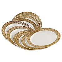 Rosymoment Arcopal Plates - Set of 10 Pieces