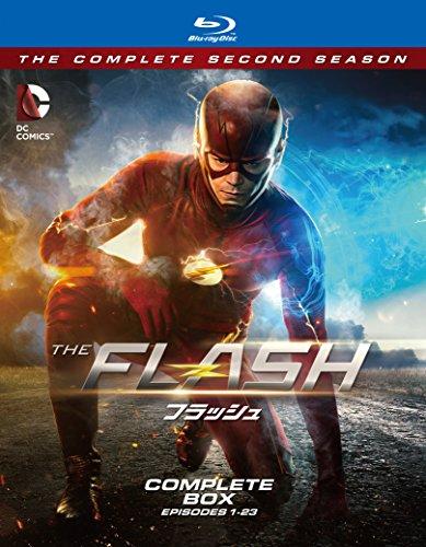 THE FLASH / フラッシュ 〈セカンド・シーズン〉 コンプリート・ボックス(4枚組) [Blu-ray]