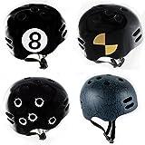 ► 29€ statt 59€ ☢ Skaterhelm ☢ BMX-Helm ☢ Fahrradhelm schwarz Größe S