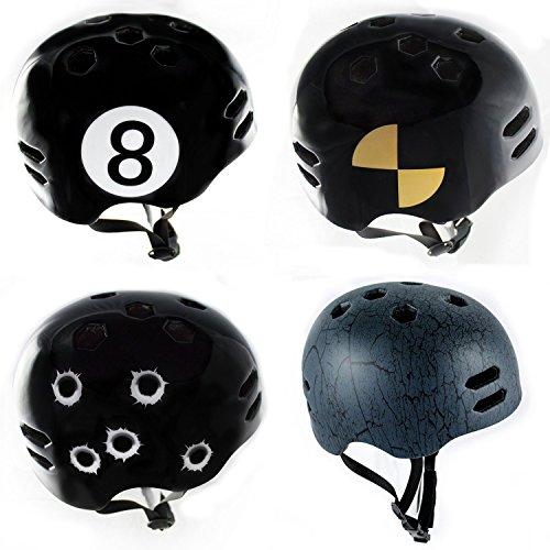 ► 29€ statt 59€ ☢ Skaterhelm ☢ BMX-Helm ☢ Fahrradhelm schwarz Größe S,M,L☢ Jetzt testen!☢ Longboard-Helm