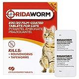 Ridaworm Tabletas con Sabor a Gato, Talla única, Paquete de 2