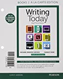 Writing Today, Brief Edition, Books a la Carte Edition Plus MyWritingLab with Pearson eText -- Access Card Package (3rd Edition) by Richard Johnson-Sheehan (2015-04-03)