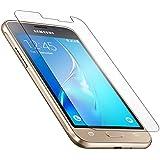 Cabling® Protección Pantalla para Samsung Galaxy J1(2016) vidrio templado premium anti golpes y Cassia, anti huella digital y Gras, Max (bordes redondeados, Dureza 9H, alta definición 99%, para Samsung J1(2016)