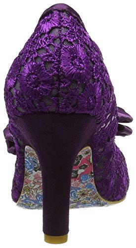 Irregular Choice Damen Mal E Bow Pumps Violett (Violett)