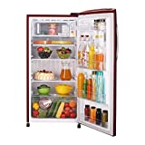 LG 215 L 5 Star Inverter Direct Cool Single Door Refrigerator (GL-D221ARGY, Ruby Glow)