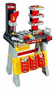Ecoiffier 2380 - Mesa de trabajo para niños con herramientas importado de Alemania