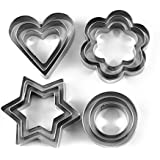 Cookie Cutter Stainless Steel Cookie Cutter with 4Shape, 12 Pieces