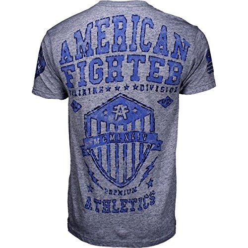 American Fighter by Affliction T-Shirt Dalton Artisan Grau Grau