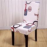 duoguan Sala da pranzo elasticizzato rimovibile lavabile per sedie banchetto di nozze anniversario partito Chair Slipcovers