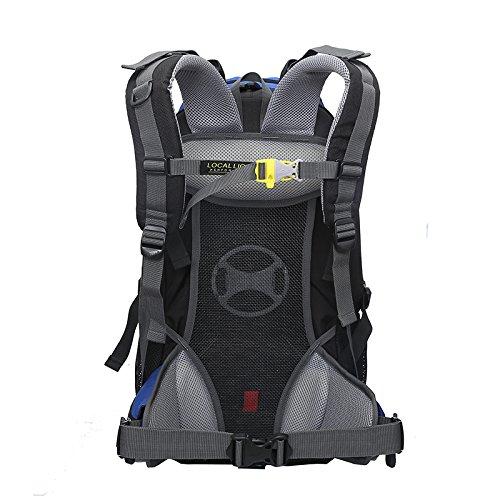 Cuckoo 45 Liters Unisex Hochleistungs-Outdoor-Klettern Camping Trekking Travel Rucksack Große Wander-Daypacks Wasserdichter Rucksack Schwarz