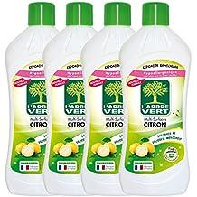 L'arbre vert Nettoyant Multi-Surface Citron 1 L - Lot de 4