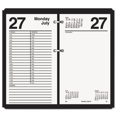 "Preisvergleich Produktbild Ataglance E21050 Large Desk Calendar Refill,  4 1 / 2"" x 8"",  2016 by At-A-Glance"